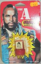 A-Team - Merchandising Mint on card rubber stamps - Murdock