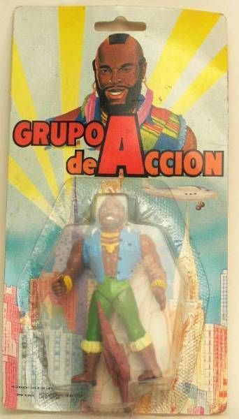 A-Team - Spanich 4 inches Action Figure - B.A. Baracus