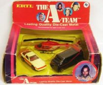 A-Team 1/64° 3 piece gift set - ERTL 1983