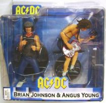 AC-DC Brian Johnson & Angus Young - NECA  figure