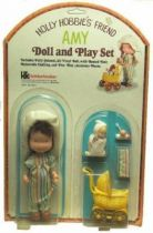 Action figure (mint on card ) Amy , Holly Hobbie\'s friend