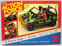 Action Force - Force Z - Jeep & Wheels