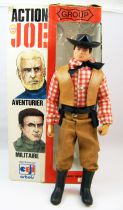 Action Joe - Cowboy - Ceji (Group Action Joe) 1975 - Ref 7597 (loose with box)
