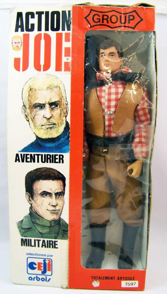 Action Joe - Cowboy - Ceji (Group Action Joe) 1975 - Ref 7597 (loose with box)