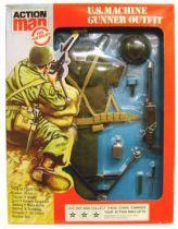 Action Man -  U.S Machine Gunner - Ref 34342