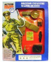 Action Man - British infantry Major - Ref 34351