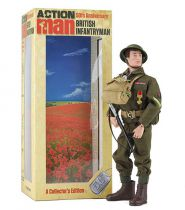 Action Man (50th Anniversary) - British Infantryman (Art + Science International Ltd)