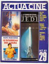 Actua Cin� n�29 - Le Retour du Jedi - octobre 1983 01
