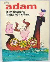 Adam - Editions Artima - n°4 Adam et les transports fluviaux et maritimes