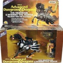 Advanced Dungeons & Dragons - LJN - Warduke & Evil Nightmare gift-set (USA box)