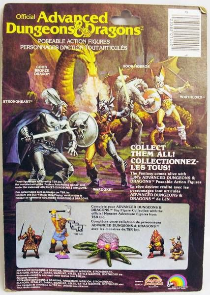 Advanced Dungeons & Dragons - LJN - Warduke (Canada card)