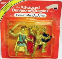 Advanced Dungeons & Dragons - LJN TSR pvc figures - Heroic Men-At-Arms