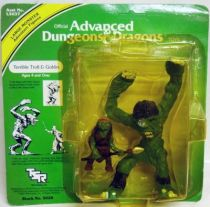 Advanced Dungeons & Dragons - LJN TSR pvc figures - Terrible Troll & Goblin