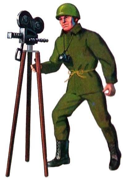 Adventure series - Combat zone reporter Action set (ref.2199)