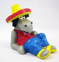 Affle & Pferdle - Bully PVC Figure - Pferdle with sombrero