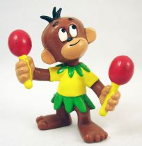 Affle & Pferdle - Figurine PVC Bully - Affle avec maracas