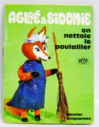 Aglae & Sidonie: We clean the henhouse - Mini-Comics Gautier-Languereau Editions ORTF 1970