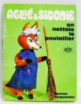Aglae & Sidonie: We clean the henhouse - Mini-Comics Gautier-Languereau Editions ORTF 1970