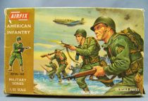 Airfix 1/32 WW2 American Infantry (Brown Box 1970) Complete 29 pieces