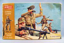 Airfix 1/32 WW2 German Afrika Korps (Brown Box 1972) Complete 29 pieces