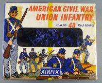 Airfix 1/72 S12 A.C.W. Union Infantry Loose with Type1 Boxe