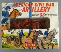 Airfix 1/72 S14 A.C.W. Artillery Confederate & Union Loose with Type1 Box
