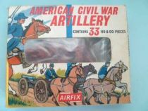 Airfix 1/72 S14 A.C.W. Artillery Confederate & Union Type1 Box (Loose)