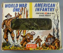 Airfix 1/72 WW1 American Infantry S29 type1 box (Loose)