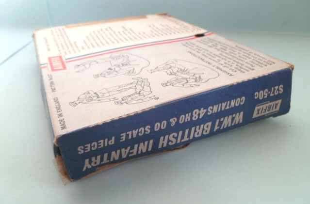 Airfix 1/72 WW1 British Infantry S27 type1 box (Loose)