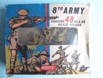 Airfix 1/72 WW2 British 8th Army S9 type1 box (Loose)