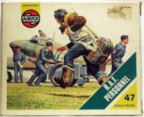 Airfix 1/72 WW2 British R.A.F. Personnel S47 type4  box (Mint)