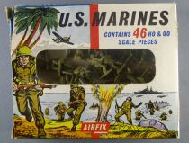 Airfix 1/72 WW2 Us Marines S16 Loose with type1 box
