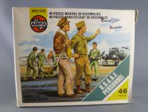 Airfix 1/72 WW2 US U.S.A.A.F. Personnel S48 loose with type4 box