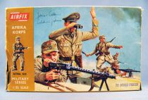 Airfix 32° WW2 Allemand Afrika Korps (Boite marron 1972) Complète 29 pièces