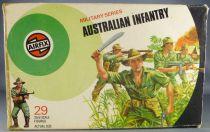 Airfix 51458-3 32° 2ème guerre Australien Infanterie Boite couleur 1973