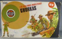 Airfix 51471-6 32° 2ème guerre Ghurkas Boite couleur 1976
