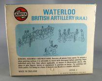 Airfix 72°  Waterloo Anglais Artillerie S46 Occasion avec boite type3