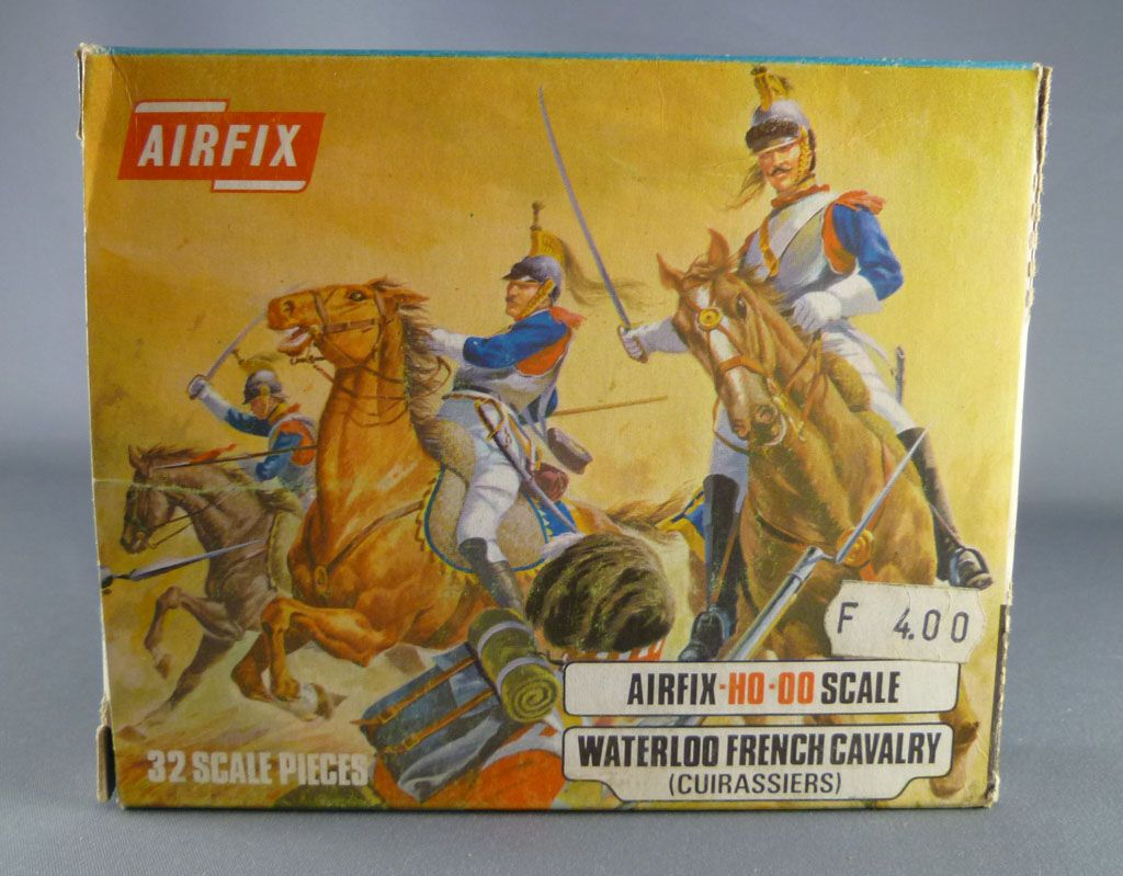 Airfix 72°  Waterloo Francais Cavalerie (Cuirassiers) S36 occasion avec boite type2