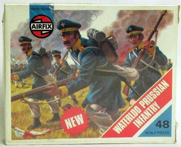 Airfix 72°  Waterloo Prussian Infantry S56 type4  Box (Mint)