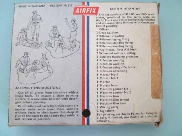 Airfix 72° 1ère G.M. Anglais Infanterie S27 boite type1 (occasion)