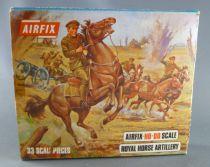 Airfix 72° 1ère G.M. S31 Artillerie royale à cheval anglaise boite type2 (occasion)