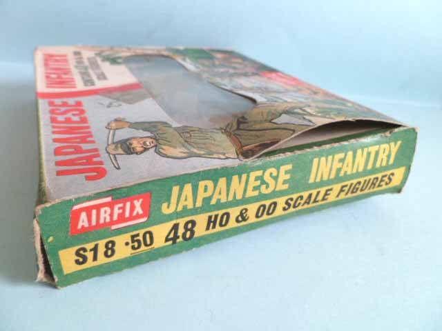 Airfix 72° 2ème G.M. Japonais Infanterie S18 boite type1 (occasion)