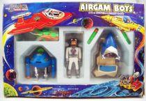 Airgam Boys - Espace Ref. 285 - Astronautes, Véhicule & Robot 01