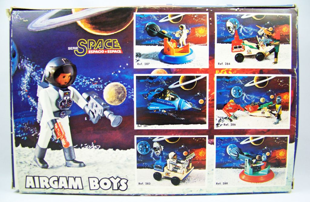 Airgam Boys - Espace Ref. 285 - Astronautes, Véhicule & Robot 05