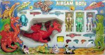 Airgam Boys - Espace Ref. 424 - Astronautes, Aliens et Dragon