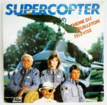 Airwolf (Supercopter) - Record Mini-LP -  French Original TV Series Soundtrack - CBS Records 1984