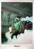 Akira - 27.2x39.2inches Poster Canson Paper - Akira 1982-1983 Otomo Katsuhiro par 1000 Editions (Spain) - Tetsuo