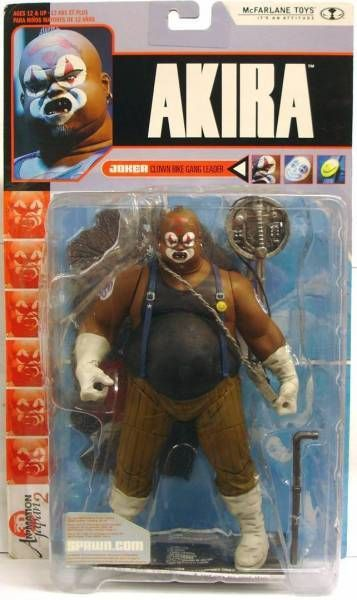 Akira - McFarlane Toys - Joker (Clown bike gang leader)