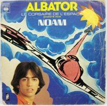 Albator - Disque 45T- Le Corsaire de l\'Espace (Noam) - Saban Records 1980