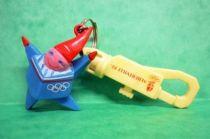 Albertville 92 - Keychain figure - Winter Olympics Games\' Mascot  Albertville 1992